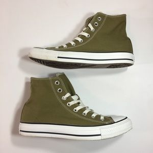 Converse All Star Hi Olive Unisex Sneakers